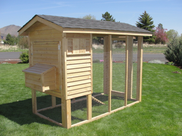 central oregon chicken coops walk in pen with coop